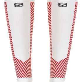 Salomon Speed Calf Calze, white/matador